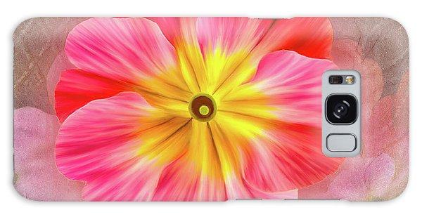 Pink Primrose #2 Galaxy Case