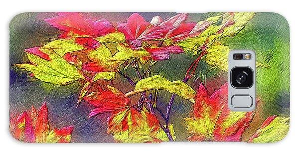 Vine Maple Color Galaxy Case