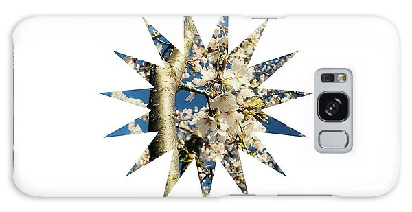 Galaxy Case - Freedom New Sun  by Nicole Beach