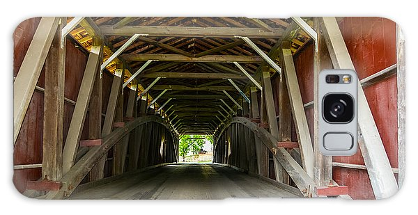 143 Feet Of Covered Bridge Galaxy Case