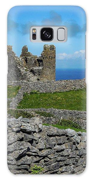 Galaxy Case featuring the photograph 14th Century O'brien's Castle Aran Islands by James Truett