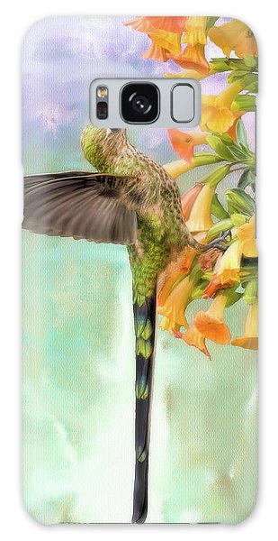Black Tailed Trainbearer Galaxy Case