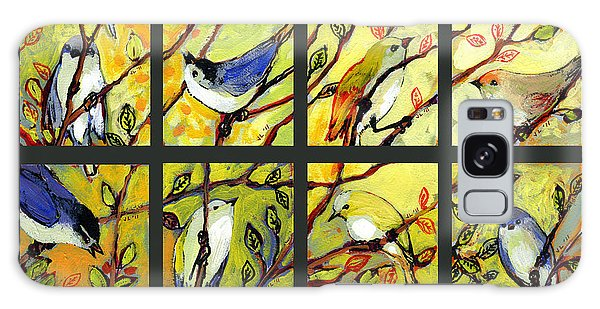 Cardinal Galaxy Case - 16 Birds by Jennifer Lommers