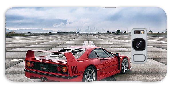 Galaxy Case featuring the photograph #ferrari #f40 #print by ItzKirb Photography