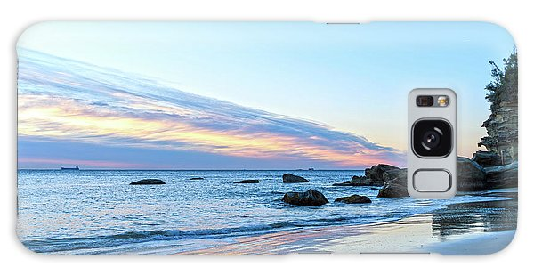 Rocky Daybreak Seascape Galaxy Case