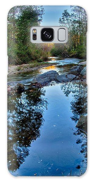 Stone Mountain North Carolina Scenery During Autumn Season Galaxy Case