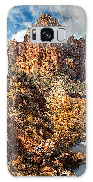 Zion National Park Galaxy Case by Utah Images