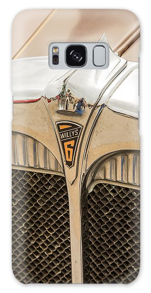 1931 Willys Convertible Car Antique Vintage Automobile Photograp Galaxy Case