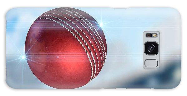 Ball Flying Through The Air Galaxy Case