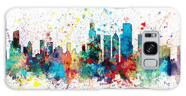 Grant Park Galaxy Case - Chicago Illinois Skyline by Michael Tompsett