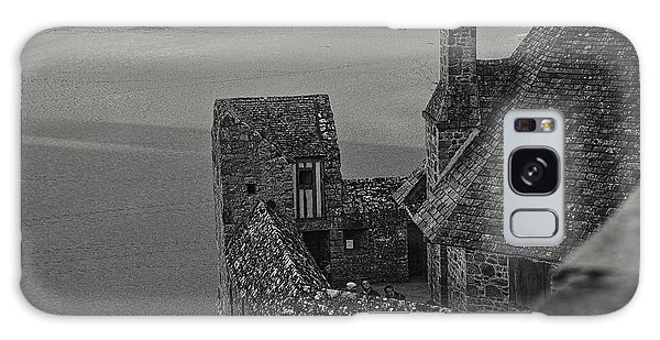 Galaxy Case featuring the photograph Mont-saint-michel France by Cendrine Marrouat