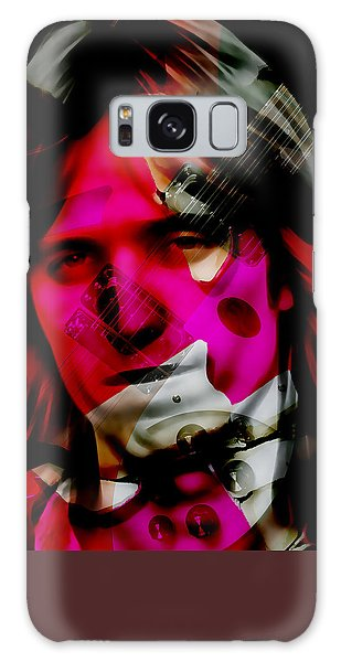 Galaxy Case featuring the mixed media Tom Petty Collection by Marvin Blaine