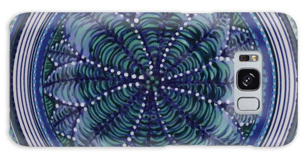 Galaxy Case featuring the ceramic art #1702 by Kym Nicolas