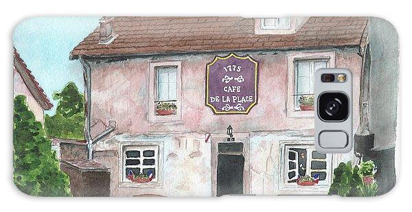 1775 Cafe De La Place Galaxy Case