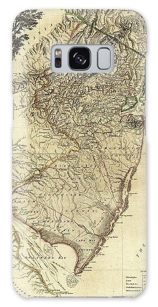 1778 Nj Map Galaxy Case by Mark Miller