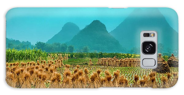 Beautiful Countryside Scenery In Autumn Galaxy Case