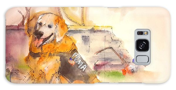 Dogs  Dogs  Dogs  Album  Galaxy Case by Debbi Saccomanno Chan