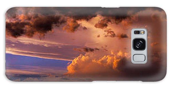 Nebraska Hp Supercell Sunset Galaxy Case