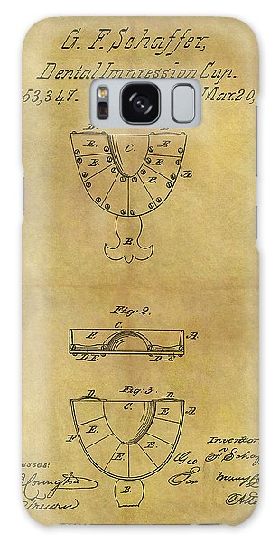 1866 Dental Mold Patent Galaxy Case by Dan Sproul