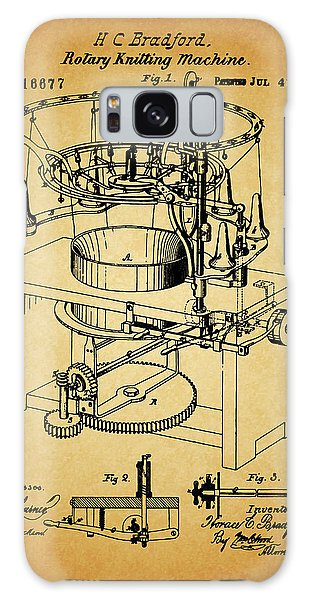 1871 Rotary Knitting Machine Galaxy Case by Dan Sproul