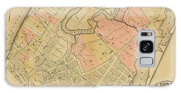 Galaxy Case featuring the photograph 1879 Inwood Map  by Cole Thompson