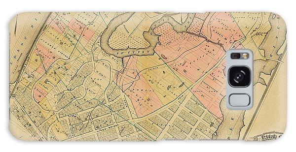 1879 Inwood Map  Galaxy Case