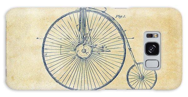 1881 Velocipede Bicycle Patent Artwork - Vintage Galaxy Case