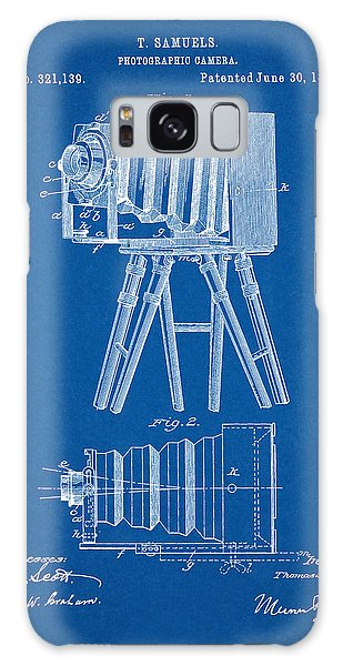 1885 Camera Us Patent Invention Drawing - Blueprint Galaxy Case