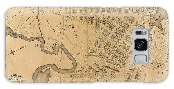 Galaxy Case featuring the photograph 1885 Inwood Map  by Cole Thompson