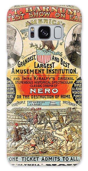 1890 - Circus Poster Galaxy Case