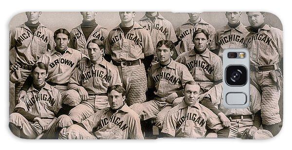 1896 Michigan Baseball Team Galaxy S8 Case