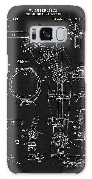 1897 Artificial Leg Patent Galaxy Case by Dan Sproul