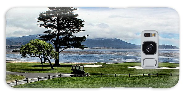18th At Pebble Beach Horizontal Galaxy Case