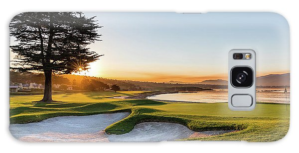 Monterey Galaxy Case - 18th At Pebble Beach by Mike Centioli