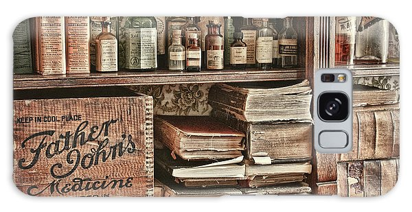 18th Century Pharmacy Galaxy Case