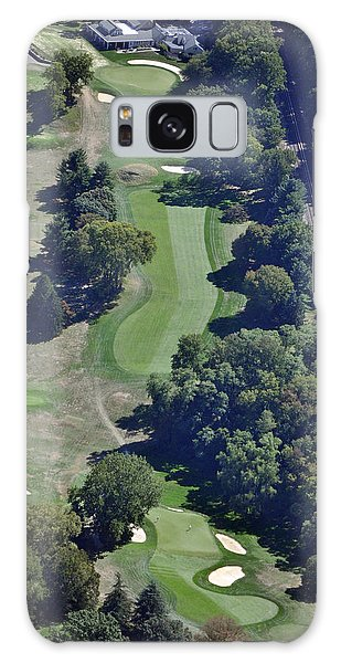 18th Hole Gulph Mills Golf Club Aerial 200 Swedeland Road Conshohocken Pa 19428 Galaxy Case