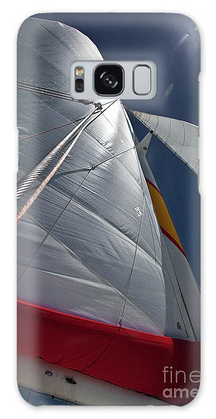 Sea And Clouds Galaxy Case