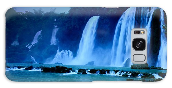 Moon Galaxy Case - Waterfall by MotHaiBaPhoto Prints