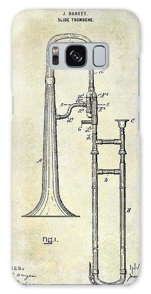 Trombone Galaxy Case - 1902 Trombone Patent by Jon Neidert