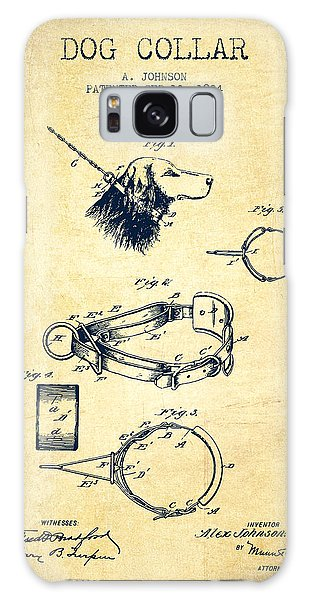 Leash Galaxy Case - 1904 Dog Collar Patent - Vintage by Aged Pixel