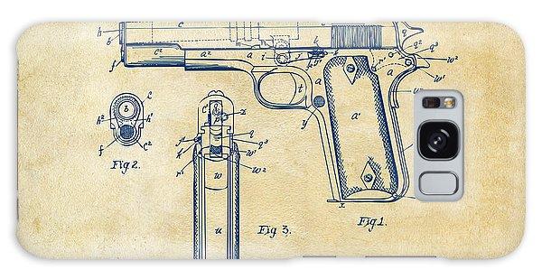 1911 Colt 45 Browning Firearm Patent Artwork Vintage Galaxy Case