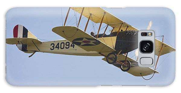 1917 Curtiss Jn-4d Jenny Flying Canvas Photo Poster Print Galaxy Case by Keith Webber Jr