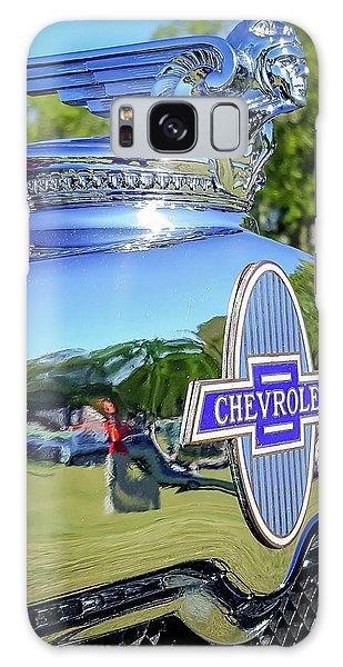 1930 Chevrolet Ad Hood Ornament Galaxy Case