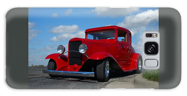 1930 Chevrolet Coupe Hot Rod Galaxy Case by Tim McCullough