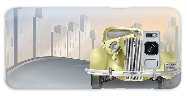 1930's Plymouth Sedan Galaxy Case by Marty Garland