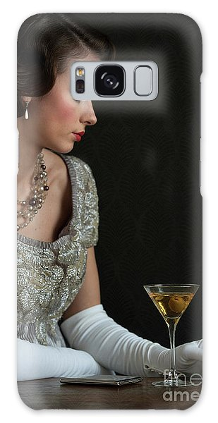 1930s Woman With A Cocktail Glass Galaxy Case
