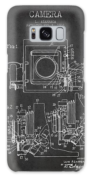 Vintage Camera Galaxy Case - 1931 Camera Patent - Charcoal by Aged Pixel
