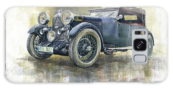Automotive Art Galaxy Case - 1932 Lagonda Low Chassis 2 Litre Supercharged Front by Yuriy Shevchuk