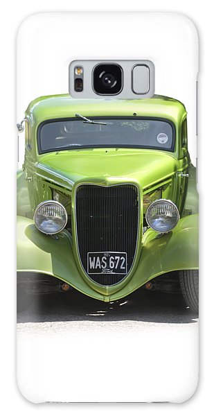 1934 Ford Street Hot Rod On A Transparent Background Galaxy Case