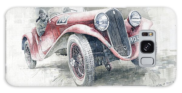 Motor Galaxy Case - 1934 Walter Standart S Jindrih Knapp 1000 Mil Ceskoslovenskych Winner  by Yuriy Shevchuk